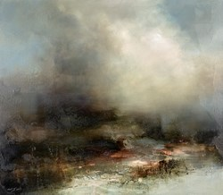 Presage by Neil Nelson - Original Painting on Box Canvas sized 32x28 inches. Available from Whitewall Galleries